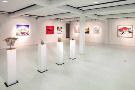 Ausstellungsansicht »Zwischenwelten«