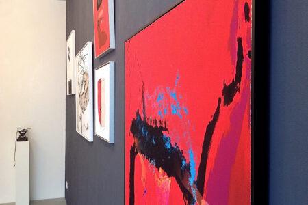 Ausstellungsansicht »Momente« Berlin