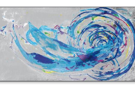 Wirbel, 2020, Piezo-Pigmentprint, 120x62 cm