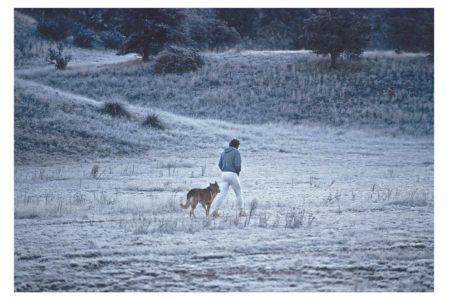 Steve McQueen - The Last Mile | Walking in the Fields 1979/2012 | Piezo Pigment Print