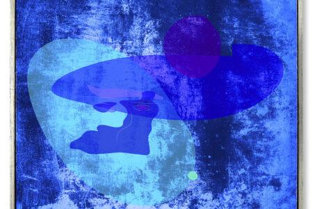 Blue Moon, 2021, Pietzo Pigmentprint, 51x60 cm