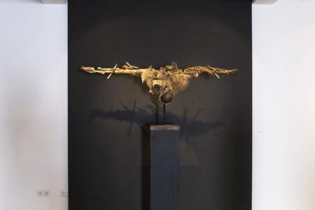 Kreuzigung der Natur, 2020, Mixed Media, 70x163x27 cm