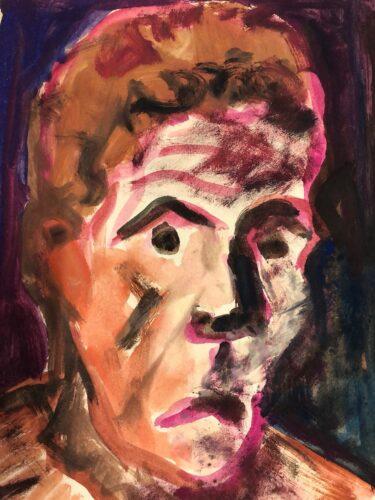 Friedrich G. Einhoff (*1901 - 1988   Aquarell/Papier um 1923